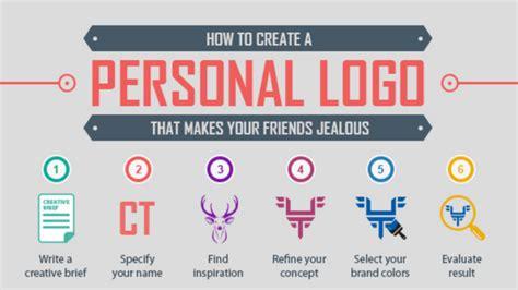 personal brand logo  create career success