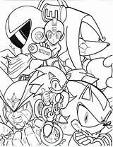 Coloring Mega Pages Sonic Megaman Archie Printable Crossover Trunks24 Deviantart Lineart Friends Boys Comics Fan Popular sketch template