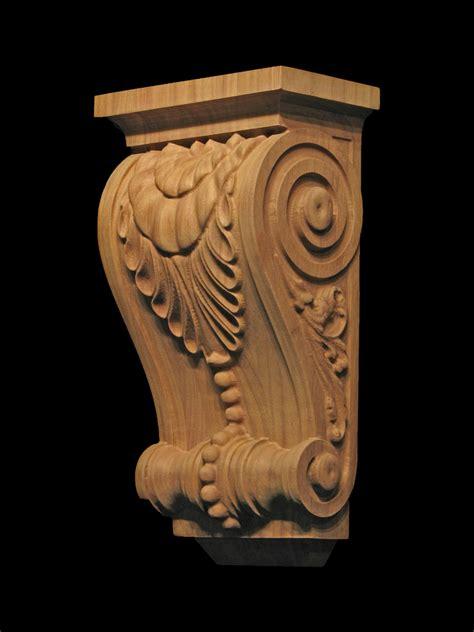 Custom Corbels by Custom Corbel Leaf And Bead Corbels Brackets And Plinths