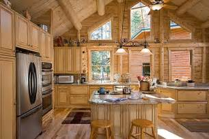 mobile home interior paneling 16 amazing log house kitchens you to see hick country