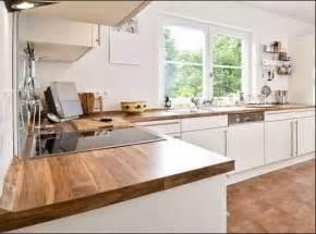 Arbeitsplatte Küche Eiche Im Weiß Küchenschrank
