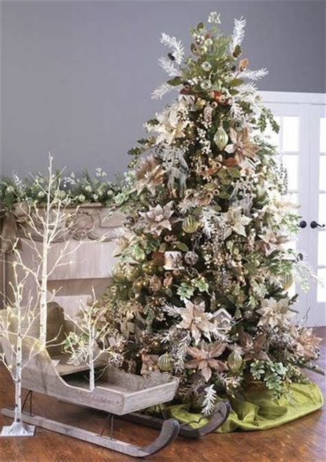 Raz Christmas Trees 2014 by Raz 2014 Emerald Cottage Tree Christmas Decorating