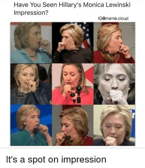 Lewinsky Meme Lewinsky Memes Of 2017 On Sizzle