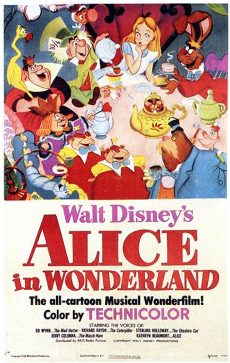 contest entry disney poster alice wonderland