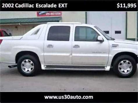 2002 Cadillac Escalade Problems 2002 cadillac escalade ext problems manuals and