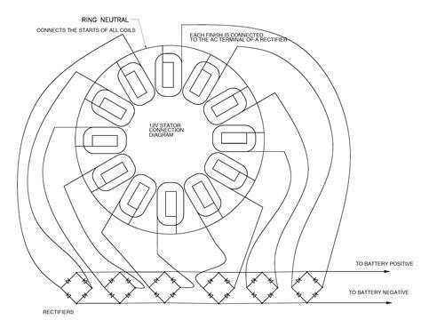delta 6 magnet stator wiring diagram schematic