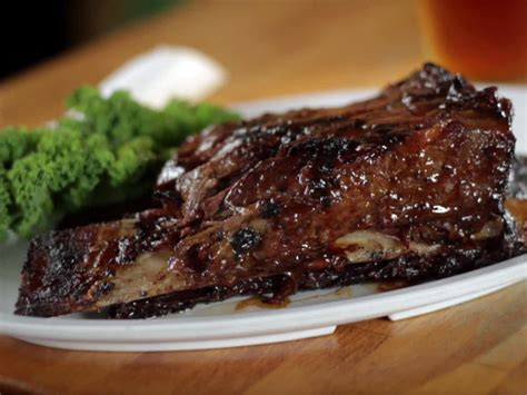 simple beef recipes simple smoked beef short ribs recipe dishmaps