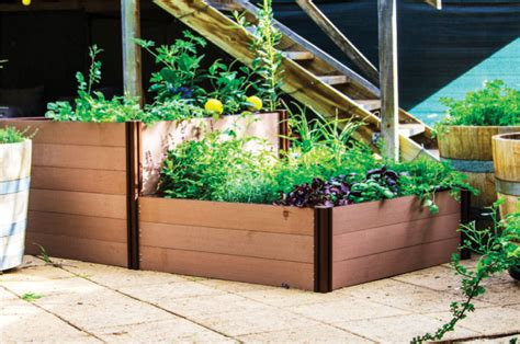 prefab garden beds modular raised garden bed holman industries