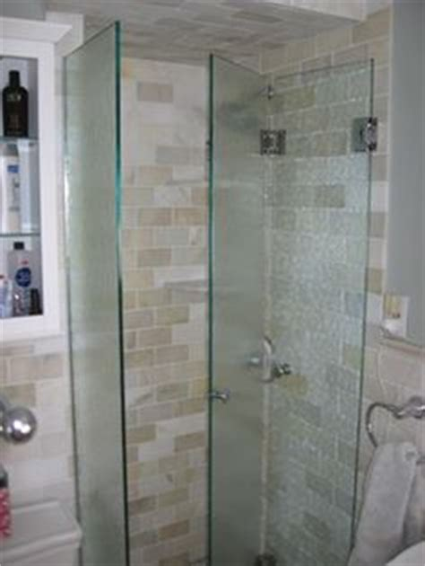 shower door frame only bi fold frameless shower door add stationary panel or