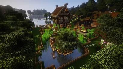 Minecraft Forest Farm Oak Water Px Games