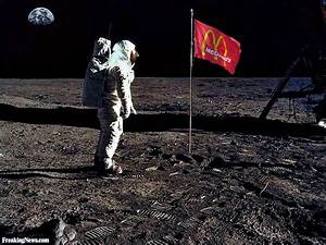 McDonalds Flag on the Moon Pictures