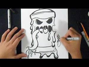 Cómo dibujar Lata de spray Derretida /Fácil Graffiti YouTube