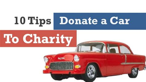 Donate Car To Charity by Tips Car Donate To Charity