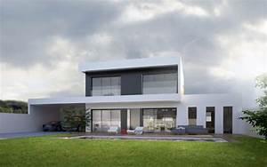 architecte pour construction maison et villa moderne lyon With maison home design lyon
