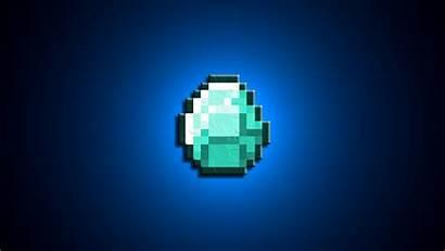 Minecraft Diamond Backgrounds Ore Wallpapers Desktop Sword