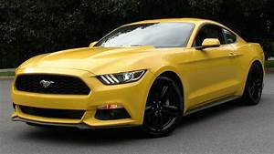 2015 Ford Mustang Ecoboost (6-Spd Performance Package) Start Up, Road Test, and In Depth Review ...
