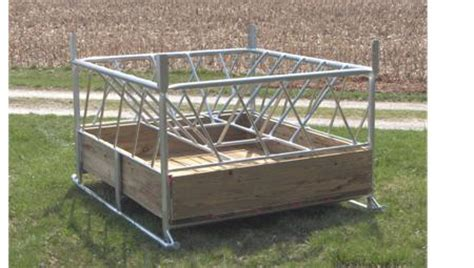 hay ring feeder hay savings chart klene pipe structures