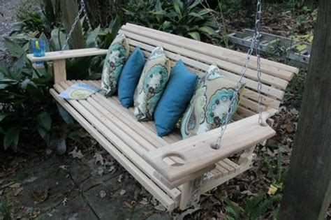 wooden porch swings patio and porch swings come sit a spell