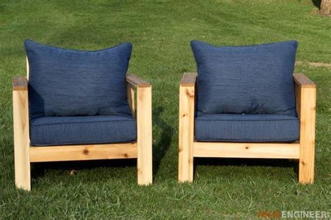 diy outdoor chair projects   yard  patio