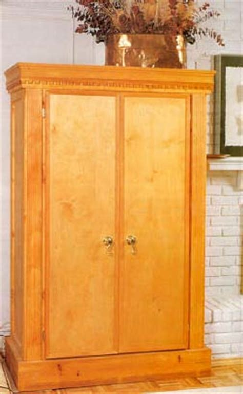 armoire furniture plans diy blueprint plans