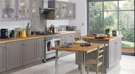 meuble cuisine bistrot aménagement cuisine 7 grandes pièces comme à la cagne
