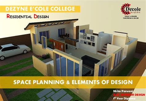 elements of interior design slideshare nisha parwani b sc interior design project presentation