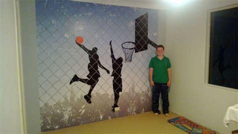 sport wall murals