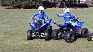 Quad Yamaha Raptor : quad kinderquad yamaha raptor ozzy ziggy youtube ~ Jslefanu.com Haus und Dekorationen