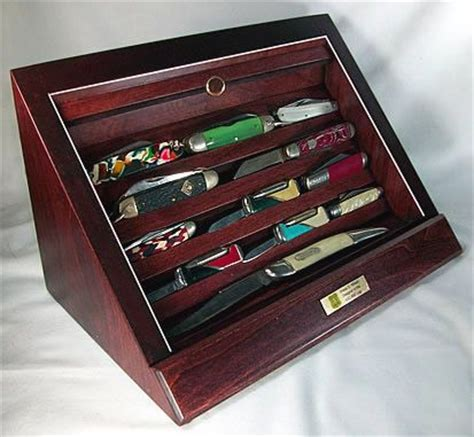 Knife Display Cabinet by Knife Display Plans Woodworking Projects Plans
