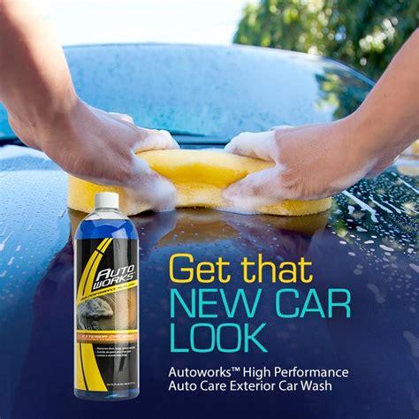 autoworks high performance auto care exterior car wash