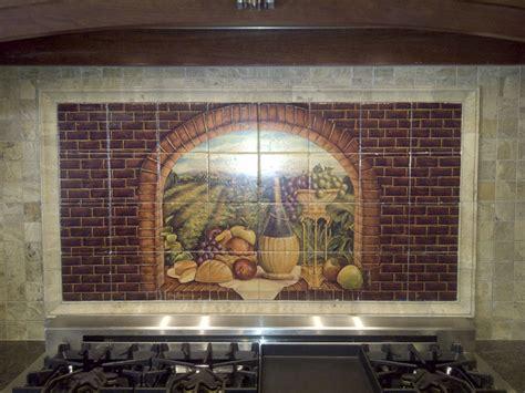 tile murals for kitchen backsplash decorative tile backsplash kitchen tile ideas tuscan 8497
