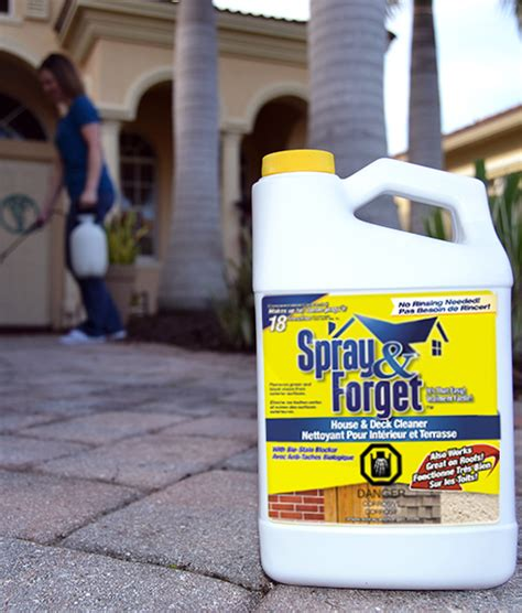 Spray And Forget House And Deck Cleaner