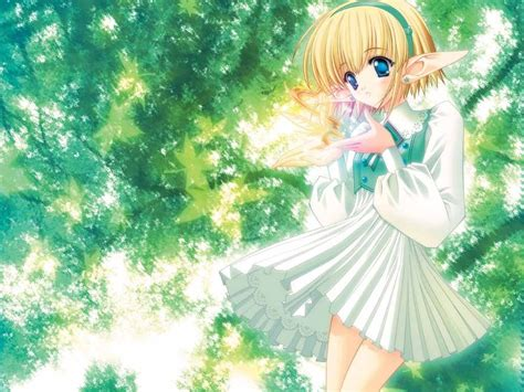Anime Elfs Images Elf Child Hd Wallpaper And Background