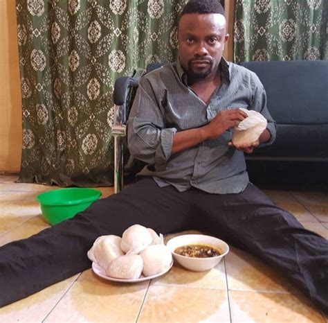 cuisine r馮ime stella dimoko korkus com actor ime bishop umoh says some are shocked when they meet him