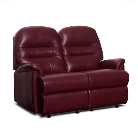 two seater settees leather keswick small leather fixed 2 seater settee care100