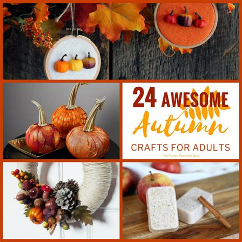 autumn crafts for adults 24 awesome autumn crafts for adults 187 the purple pumpkin blog