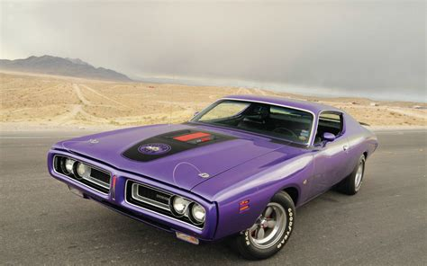 Dodge Super Bee Classic Muscle Cars Wallpaper