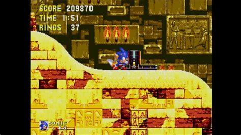 sonic  hedgehog  knuckles gameplay part