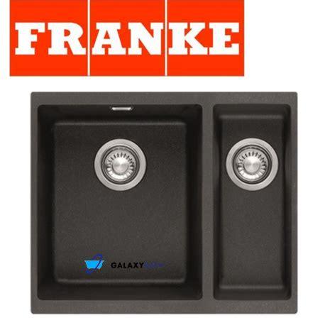 franke black kitchen sinks franke sirius black onyx tectonite undermount 1 5 bowl 3518