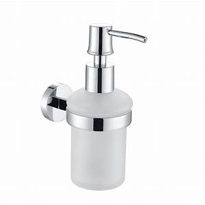 H003046903cp Chrome Soap And Lotion Dispenser  Wall