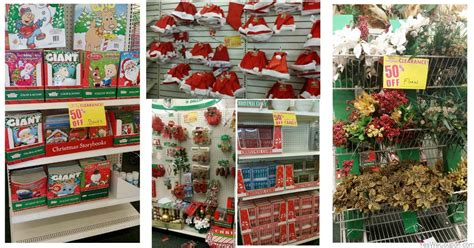 hot dollar tree christmas clearance 50 off decor candy