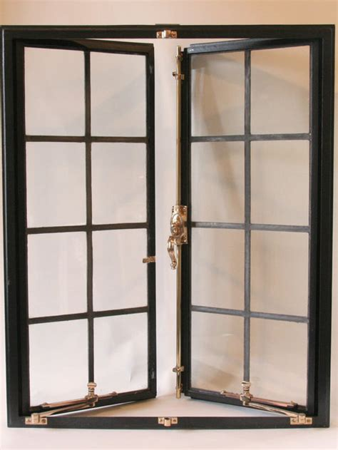 vintage steel windows  french doors