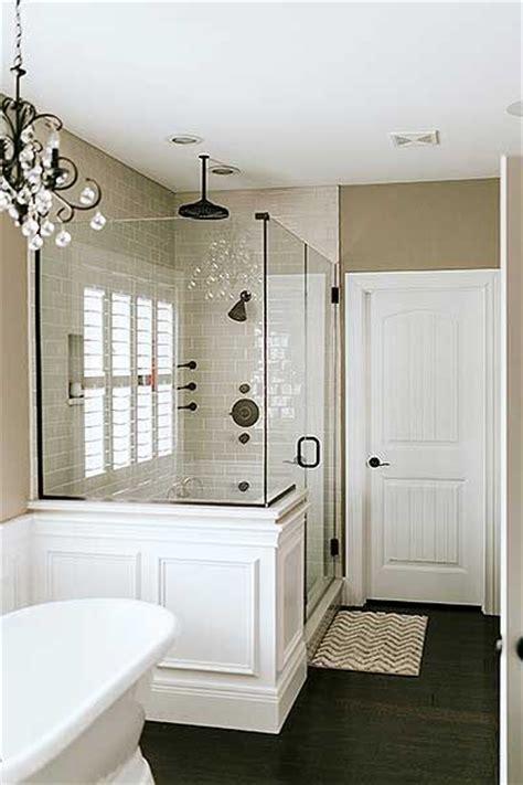 ideas  master shower  pinterest master