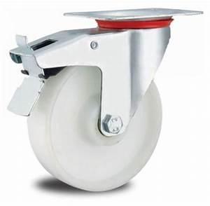 Lenkrollen Mit Bremse : lenkrollen mit bremse weiss 100 mm rolle transportrolle laufrolle wei kunststoff plastikrolle ~ Eleganceandgraceweddings.com Haus und Dekorationen