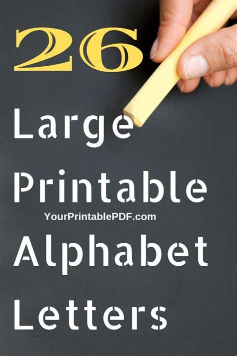 large printable alphabet letters  printable  lettering alphabet printable