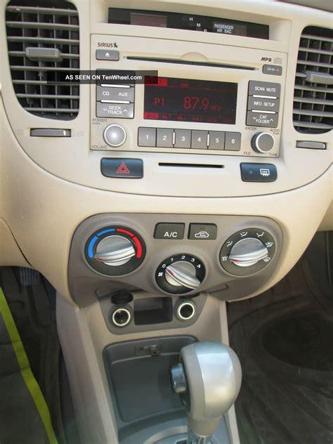 airbag deployment 2010 kia rio transmission control 2010 kia rio lx sedan