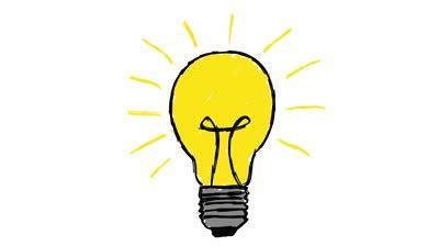 Idea Light Bulb Cartoon  Clipart Library  Free Clipart