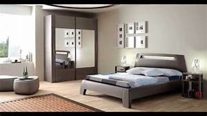decoration chambre a coucher youtube With chambre a coucher contemporaine