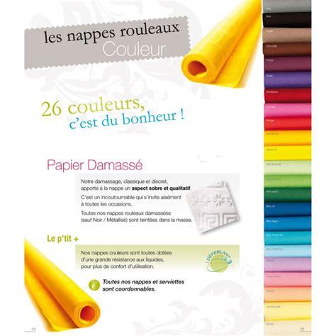 rouleau de nappe en papier rouleau de nappe en papier 25 m damass 233