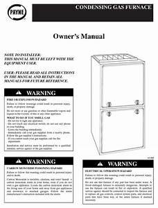 Payne Condensing Gas Furnace Owner U0026 39 S Manual Pdf Download